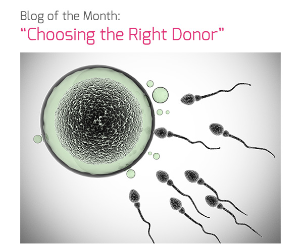 """Blog of the Month: """"Choosing the Right Donor"""""""