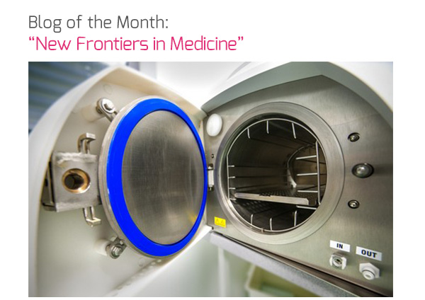 Blog of the Month: 'New Frontiers in Medicine'