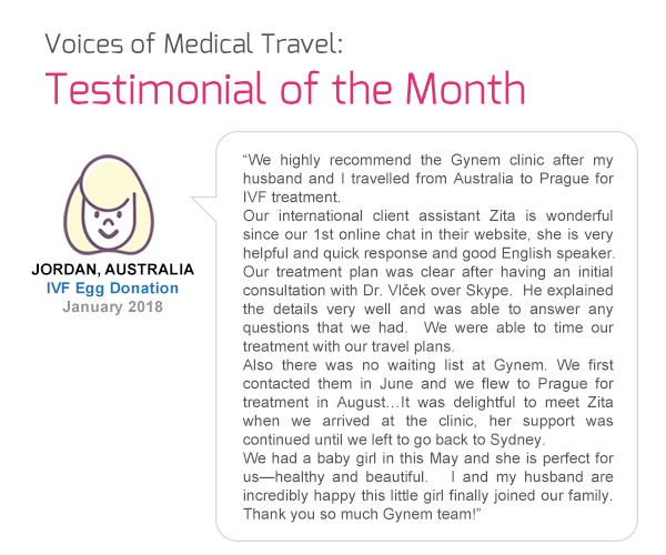 Voices of Medical Travel: Testimonial of the Month