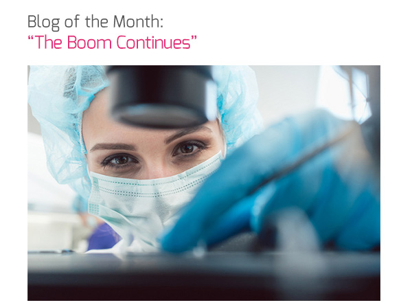 Blog of the Month: 'The Boom Continues'